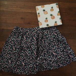 Anthropologie Coincidence & Chance Floral Skirt